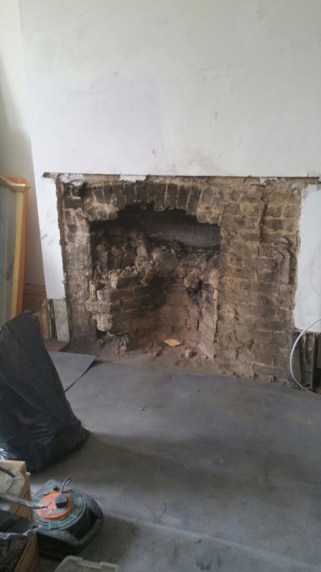 Fireplace Removal and Installation